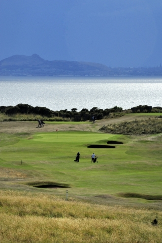 Gullane No 1. The 12th green