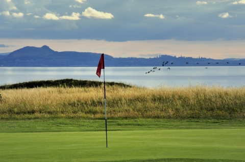 Gullane No 1. 14th green