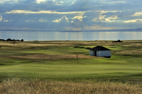 Gullane No 1. 15th green