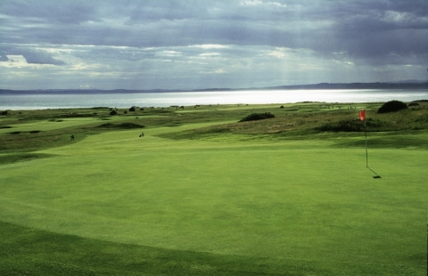 Gullane No 1. 5th green