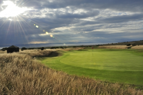 Gullane No 1. 16th green