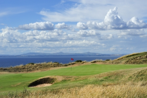 Gullane No 1. 6th green