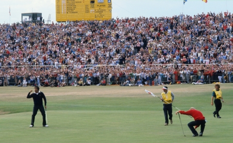 Seve Ballesteros Winning Open At St. Andrews 1984