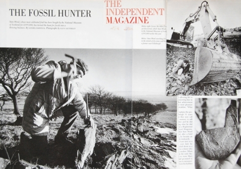 Stan Wood Fossil Hunter